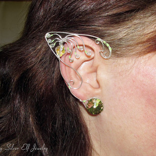Woodsprite, Avatar Inspired Ear Jewelry