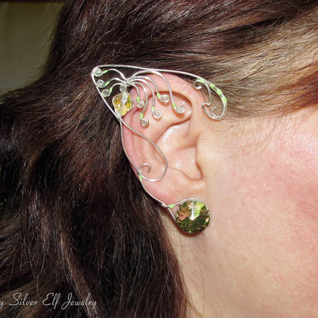 Woodsprite, Avatar Inspired Ear Jewelry