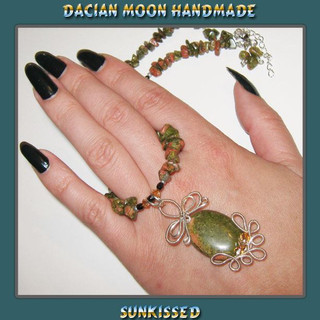 """""""SunKissed"""" necklace"""