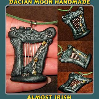 """""""Almost Irish"""" pendant"""