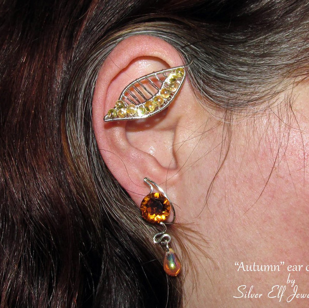Autumn Ear Cuff