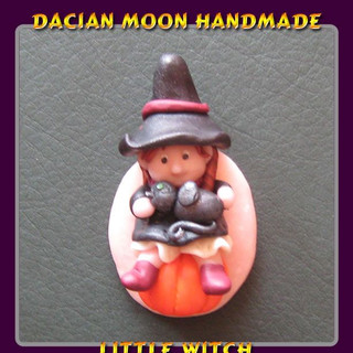 """""""Little Witch"""" brooch"""