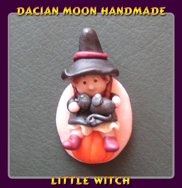 """Little Witch"" brooch"