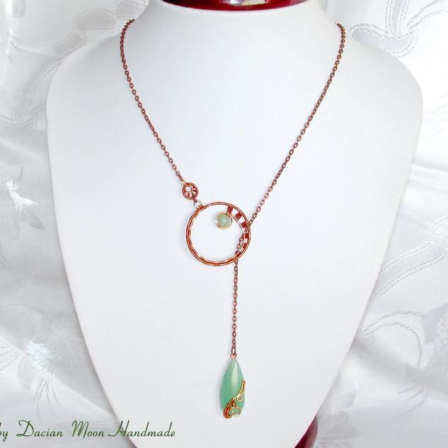 """""""Copper Elegance"""" necklace"""