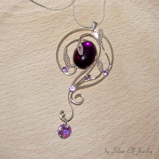 Violet Lake Necklace