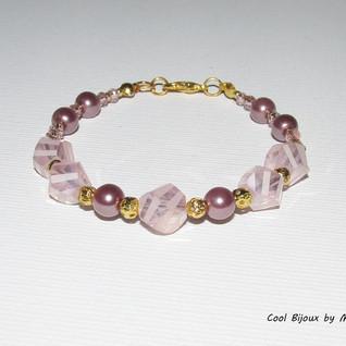 """""""Pink"""" bracelet"""