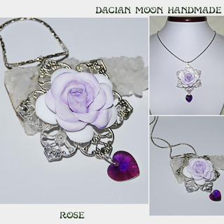 """Rose"" pendant"
