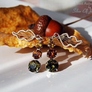 Sweet Autumn Ear Studs