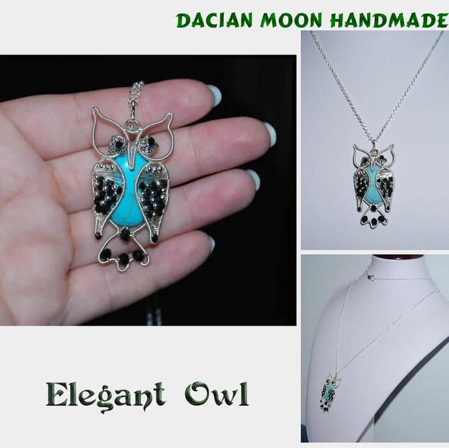 """""""Elegant Owl"""" pendant"""
