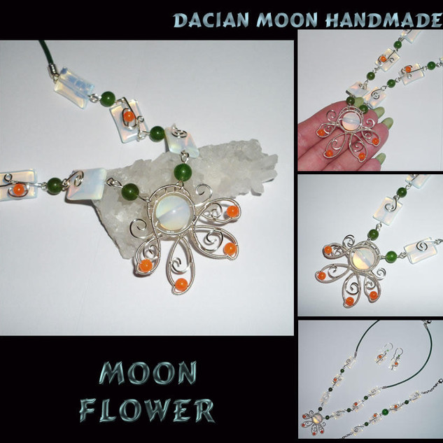 """Moon Flower"" set"