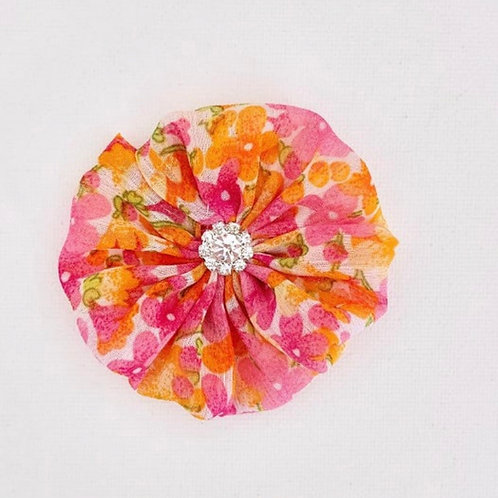 Beautiful Begonia Headband or Hair Clip