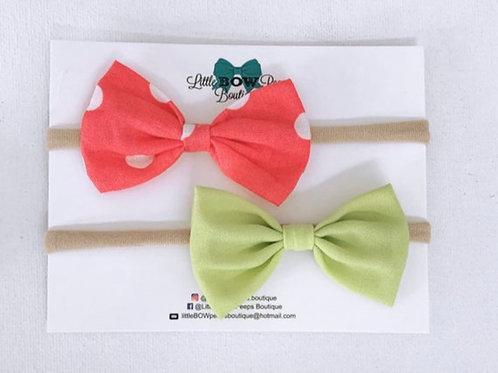 Strawberry Kiwi Headband Set