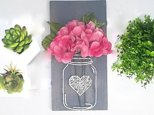 String Art Vase