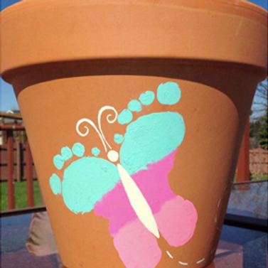 Spring Pot Painting