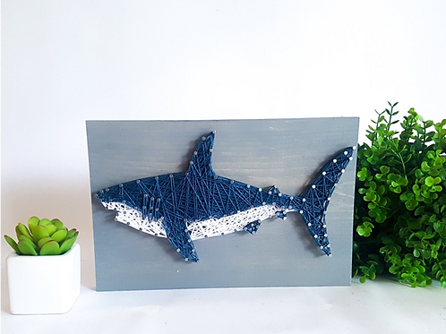 Shark String Art