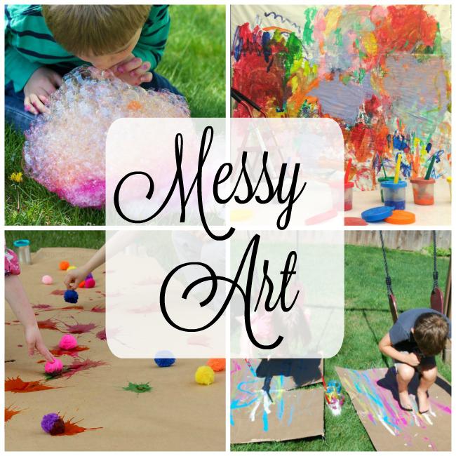 Messy Art In The Park Waterdown