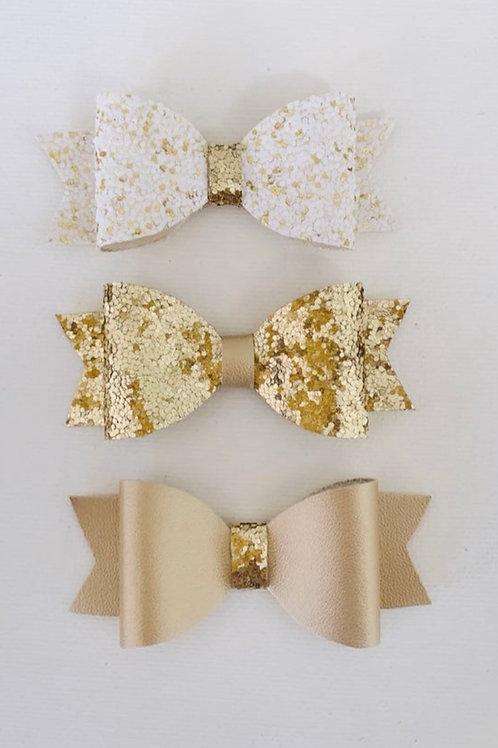 Pot of Gold Set (Headband or Hair Clips)