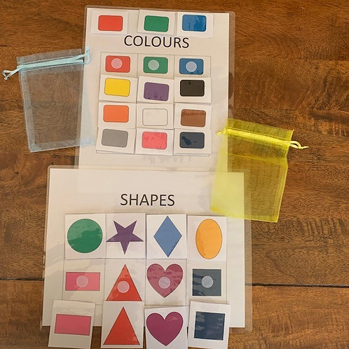 Shapes & Colours Matching