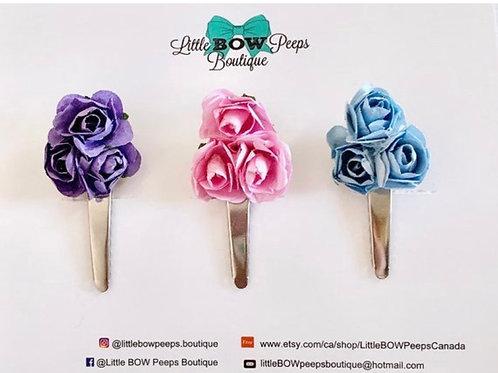 Bouquet of Rose Clip Set