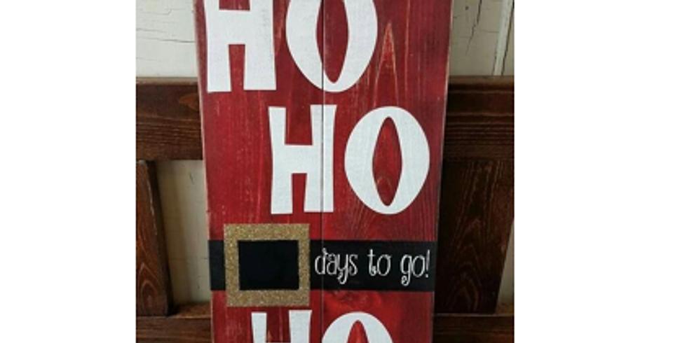 Christmas Countdown Craft Hamilton