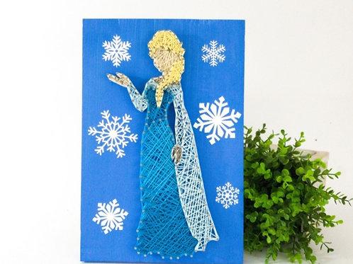 Elsa String Art