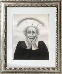 Anciana martirizada