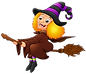 halloween-witch-flying-on-broom-isolated