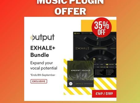 Vst offer ! 35% off on Output EXHALE+ Bundle (Kontakt Instrument by Exclusive Bundles+)