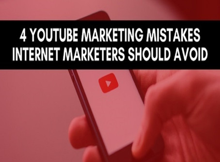 4 Mistakes Keep Your Channel From Growing
