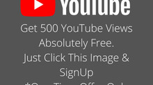Free 500 Youtube Views