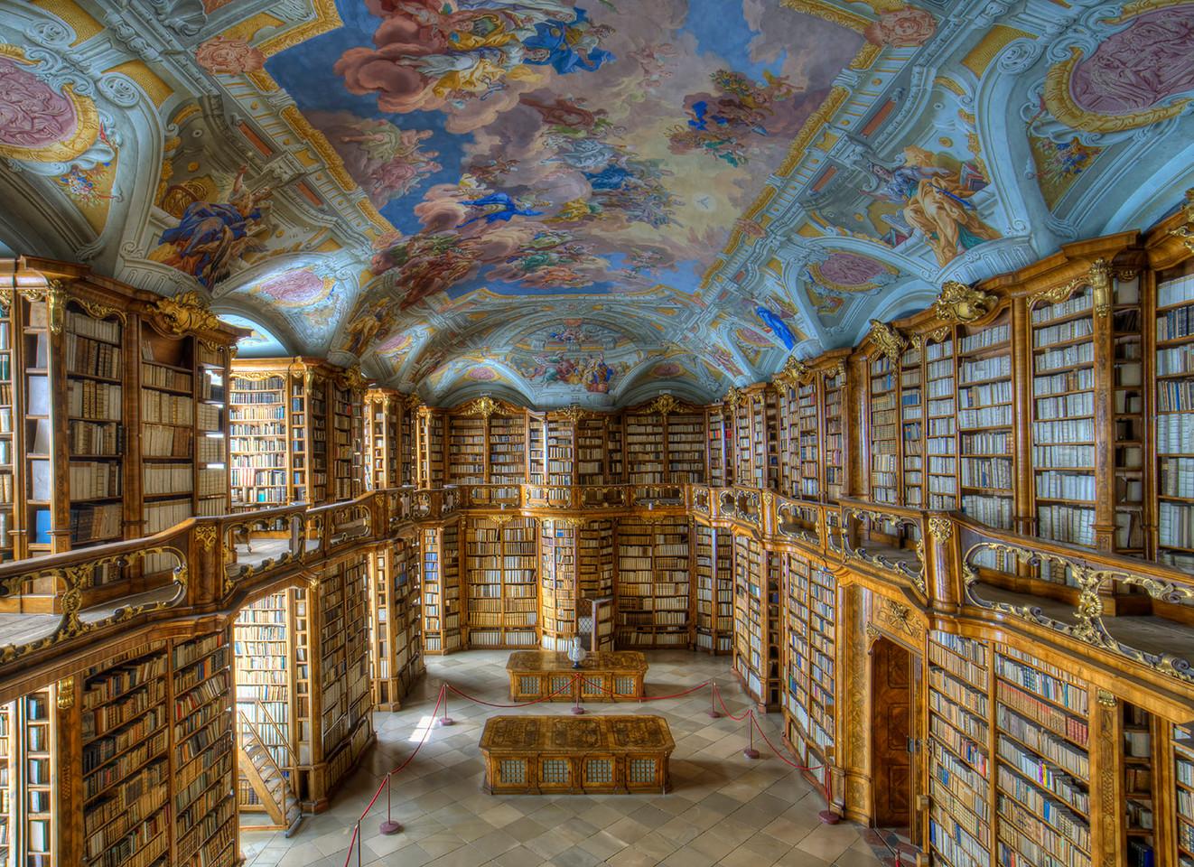 Bibliothque de Sankte-Florian