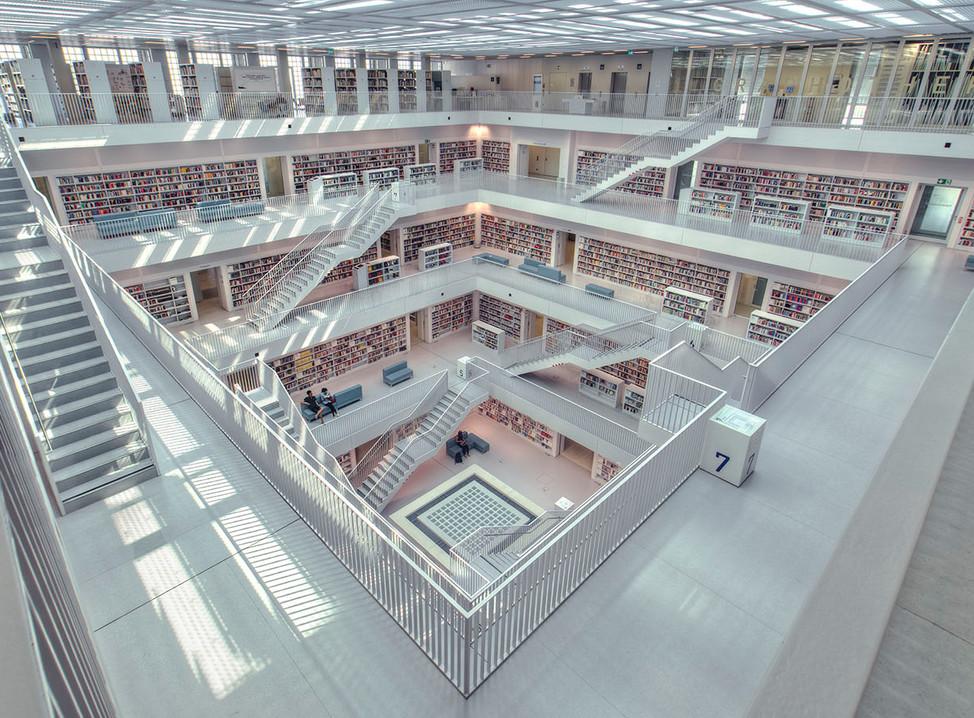 The White Library , Stuttgart