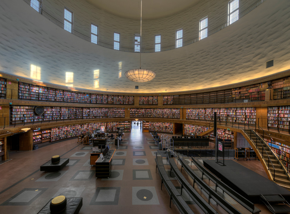 Sttatbibliotek , Stockholm