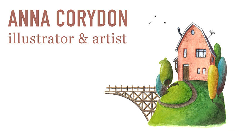 illustration, tiny house, children's illustration