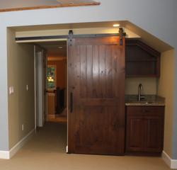 Bonus Room door
