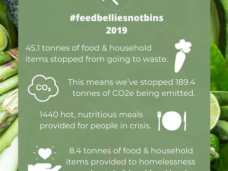 #FeedBelliesNotBins - 2019