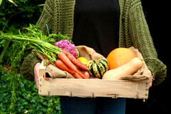 Locally sourced veg