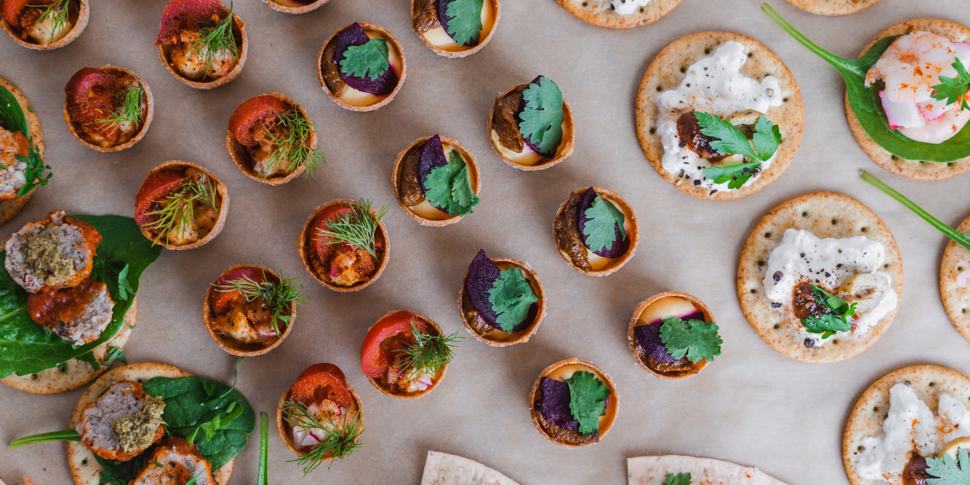 Canapés and small bites