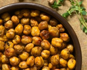 How to make the most scrumptious delicious treat... roasted garbanzo beans