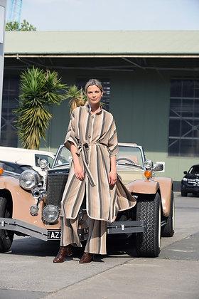 M.A.Dainty Camel Stripe Jacket