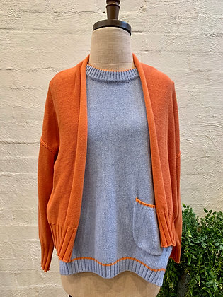 Zaket & Plover Orange Knit