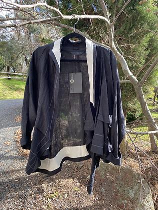 Moyuru Relaxed Black Jacket