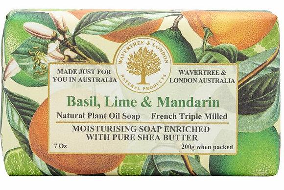Wavertree & London Soap - Basil, Lime & Mandarin