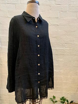 Shanty Black Pioneer Shirt