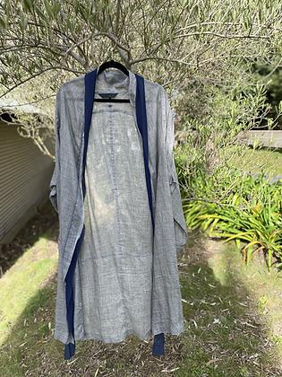 Moyuru Linen Grey Jacket