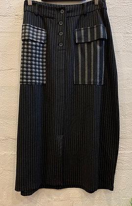 Alembika Stripe Skirt