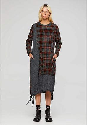 MM SOHN Sub Divide Plaid Dress