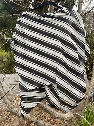 Moyuru Stripe Box Shape Top