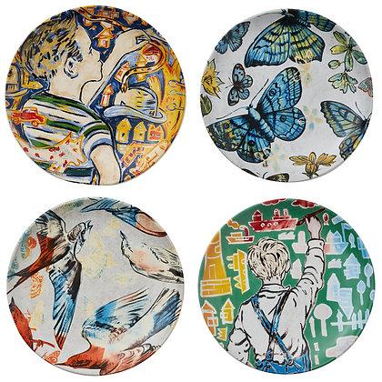 Robert Gordon x Bromley Plate Set