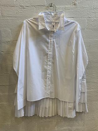 M A Dainty Pleated Shirt